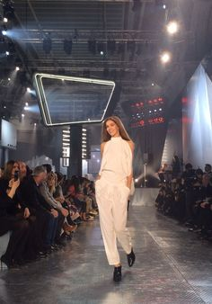 Straight from the runway at the #HMStudioAW14 show at #PFW!