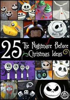 25 Deadly The Nightmare Before Christmas Ideas you have to try before Halloween. Christmas Birthday Party, Christmas Baby Shower, Halloween Christmas, Christmas Themes, Kids Christmas, Fall Halloween, Halloween Crafts, Holiday Crafts, Holiday Fun