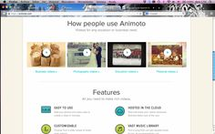 "Module # 3 I looked at different video maker tools and my favourite one is ""Animoto"". It's ""free""  and simple for beginners. You can create a video by adding your own photos/videos. Then the editing choices are great and it's also simple to store and share your product. https://animoto.com/"