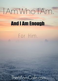Do you know that you can be used by God JUST as you are? Be encouraged by these words and know you are ENOUGH. Christian inspiration sharing the gracious love of Christ in us all...