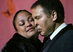 Laila & Muhammad Ali...Daughter & Father