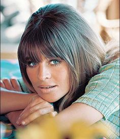 Julie Christie, actress. Did you ever see the movie, Away From Her? Julie Christie starred in the film & it's excellent!