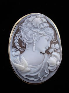 Cameo jewelry is SO beautiful! I have a few pieces and am always looking for more!