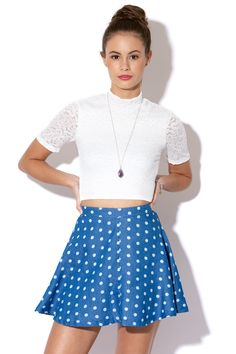 Universal Store Luck & Trouble Skirt