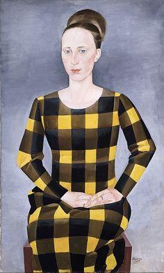 Heinrich Stegemann (German, 1888-1945) The wife of the artist, Ingeborg Stegemann (born Krause) 1925