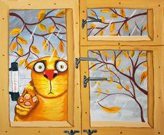 А какое #времягода Вы любите больше? #ОСЕНЬ 🍂🍂🍂 ? или #ЗИМА ❄️❄️❄️? __________________________ #погода #спб #петербург #сероевремягода #дождь #снег #листопад #снеговик #природа #арт #васяложкин #художник #котики #кот #котик