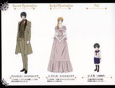 Vincent + Rachel Phantomhive - Casual  + Ciel Phantomhive - As a Young Child w/Sailor Outfit