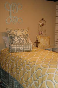 Spirit Color Scheme  Simple Duvet   Dorm Suite Dorm