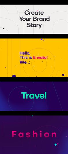 """Buy Stomp Opener by on VideoHive. """"Stomp Opener is an Energetic template for After Effects Opener Template. Preparing creative intro templates by U. Brand Story, After Effects Templates, Digital Media, Teaser, Online Marketing, Instagram Story, Plane, Typography, Positivity"""