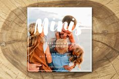 Holiday Mini Session Blog, Facebook and Instagram marketing templates for professional photographer .