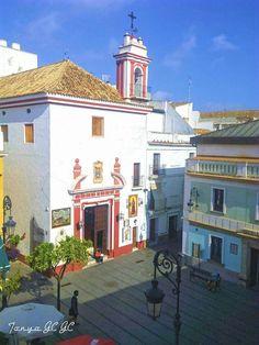 Plaza de San Roque, Iglesia del Cautivo, Sanlúcar de Barrameda, Cádiz Plaza, Mansions, House Styles, Travel, Home Decor, Horse Racing, Monuments, Antigua, Places