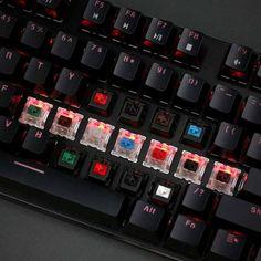 """Glorious Modular RGB Mechanical Gaming Keyboard (Barebones) v2""  -For base"