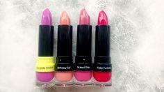 Saturated Cosmetics Lipsticks