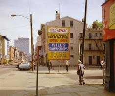View West Street and Vine Street, Cincinnati, Ohio, May 1974 by Stephen Shore on artnet. Browse more artworks Stephen Shore from Edwynn Houk Gallery. Photography Gallery, Color Photography, Film Photography, Street Photography, Landscape Photography, Photography Magazine, Travel Photography, Stephen Shore, New Topographics
