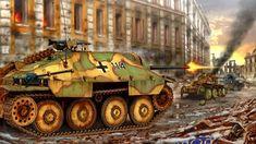 Afbeeldingsresultaat voor ww 2 illustraties tankmodels