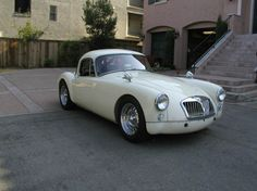 High Compression Coupe - 1959 MGA Twin Cam - SCD Motors - The Sports, Racing and Vintage Car Market