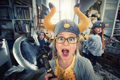 NO DAD! Vikings do not clean their rooms! | by John Wilhelm is a photoholic