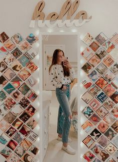 46 dorm room inspiration decor ideas for college 16 - Each of us has different ., 46 dorm room inspiration decor ideas for college 16 - Each of us has different ., Schlafzimmer Design f. Cute Room Ideas, Cute Room Decor, Room Wall Decor, Doorm Room Ideas, Picture Room Decor, Teen Wall Decor, Room Lights Decor, Teenage Room Decor, College Room Decor