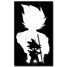 Dragon Ball Z Art Silk Fabric Poster Print Japanese Anime Goku Picture for Living Room Wall Decor Gift 030 Dragon Ball Z, Blue Dragon, Manga Anime, Anime Art, Manga Girl, Pretty Cure, Wallpaper Do Goku, Mobile Wallpaper, White Wallpaper