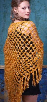 bufanda de punto