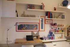 Kids room with ikea for study area and playing