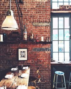 """""""Seeking solace from the cold but not for long because I'm off to yoga! Discover cool NYC design & decor spots - like the industrial-inspired beauty…"""""""