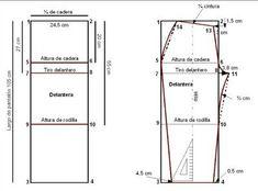 como hacer un pantalon (molde modelo)