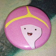 """Button Badge Adventure Time """"Princess Bubblegum"""""""