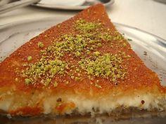 Cheese kanafeh