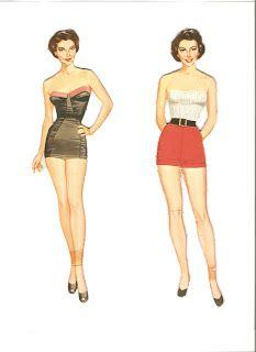 Miss Missy Paper Dolls: Ava Gardner