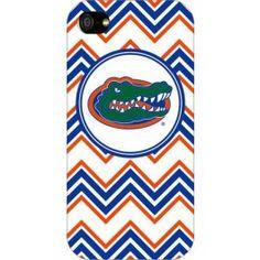 Florida Gators Chevron Print iPhone 5 Case