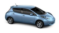 Nissan LEAF® Electric Car. Distance: 73 miles. The Nissan LEAF® is estimated to achieve up to 73-mile driving range under the required EPA derived MPG-based 2-cycle testing.