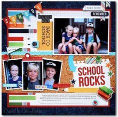 Back 2 School (*new* Simple Stories) - Scrapbook.com