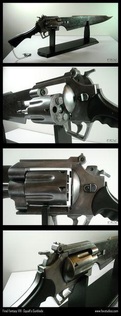 FFVIII- Squall's gunblade by fevereon.deviantart.com on @deviantART