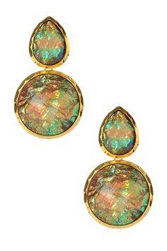 Amrita Singh Alexandrite Earrings by Weekend Ready on @HauteLook
