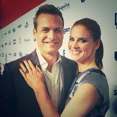 Harvey and Donna - Gabriel Macht and Sarah Rafferty