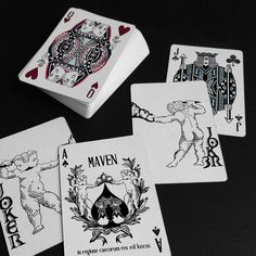 Maven Playing Cards is raising funds for Duality, A Handmade Deck of Cards printed by the E. on Kickstarter! A new deck created using century fine art techniques.