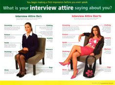 Do's and Don'ts of dressing for an interview