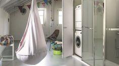 Installer lave-linge dans la salle de bains, buanderie - Côté Maison