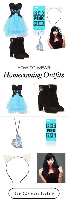 """Untitled #1"" by sundayrock on Polyvore featuring Salvatore Ferragamo and Charlotte Russe"