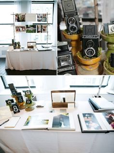 This is a photographer's vendor booth setup and it's beautiful!