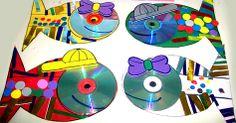 Peces con CDs