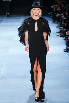 Saint Laurent Spring 2013 Ready-to-Wear Fashion Show - Aline Weber (Next)