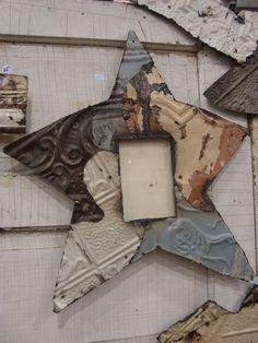 ceiling tin frame