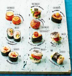 男の子の大好き!食べごたえのある肉のおむすび Sushi Recipes, Asian Recipes, Sushi Taco, Onigiri Recipe, Japanese Food Sushi, Kimbap, How To Cook Rice, Sushi Rolls, Cute Food