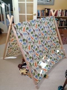 DIY Play Tent - Type Lush. ** Learn more at the image