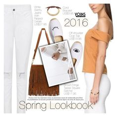 """Yoins 20:White Jeans"" by pokadoll ❤ liked on Polyvore featuring Soludos, women's clothing, women, female, woman, misses, juniors and yoins"