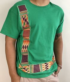A personal favorite from my Etsy shop https://www.etsy.com/listing/538036173/kente-african-ankara-dashiki-shirt-rasta