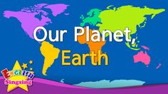 Kids vocabulary - Our Planet, Earth - continents & oceans - English educ...