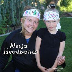 Doodlecraft: Ninja Headbands! More